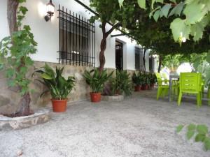 Entrada Casa Rural La Ladera